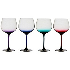 Ella Sabitini - Tutti gin glasses in four assorted colours