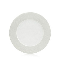 J by Jasper Conran - 'Beckton' grey geometric dinner plate
