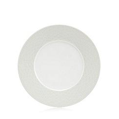 J by Jasper Conran - 'Beckton' grey geometric dessert plate