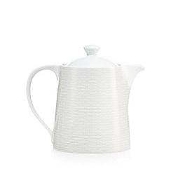 J by Jasper Conran - Grey geometric print tea pot