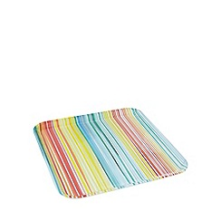 Ben de Lisi Home - Multi-coloured striped print tray