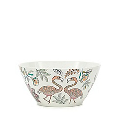 Butterfly Home by Matthew Williamson - Multi-coloured printed cereal bowl