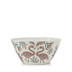 Butterfly Home by Matthew Williamson - Pack of four bird print melamine bowls