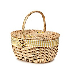 Home Collection - Natural wicker picnic basket