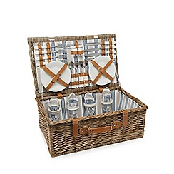 Home Collection - Natural four person picnic hamper
