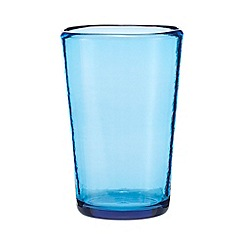 Ben de Lisi Home - Blue hiball glass