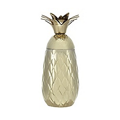 Butterfly Home by Matthew Williamson - Gold pineapple cocktail shaker and tumbler