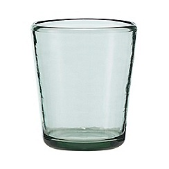 Home Collection - Green tumbler glass