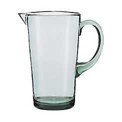 Home Collection - Recycled look Green large plastic jug
