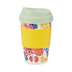Creative Tops - Multi-coloured floral print flask
