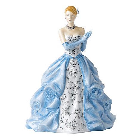 Royal Doulton - Blue +Catherine+ figurine