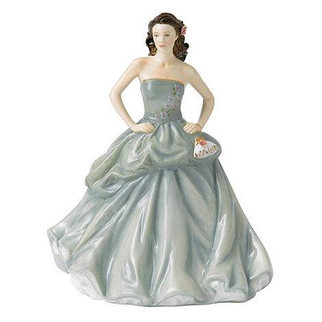 Royal Doulton - Blue +Happy Birthday 2013+ figurine