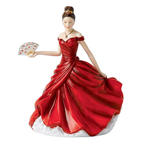 Royal Doulton - Red +Maria+ figurine