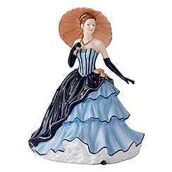 Royal Doulton - Blue 'Amy' figurine