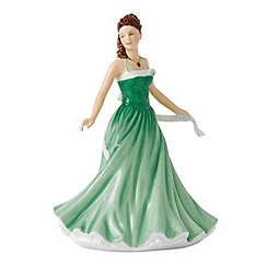 Royal Doulton - May Emerald Birthstone petite figurine