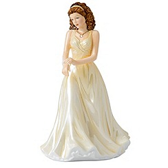 Royal Doulton - June Pearl Birthstone petite figurine