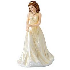 Royal Doulton - June Pearl Birthstone petite figurine