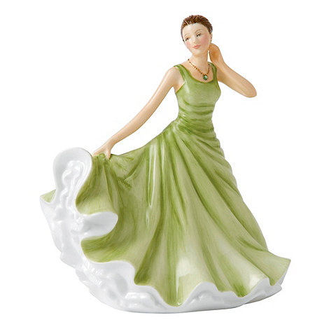 Royal Doulton - August Peridot Birthstone petite figurine