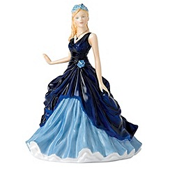Royal Doulton - September Sapphire Birthstone petite figurine