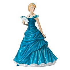 Royal Doulton - December Turquoise Birthstone petite figurine