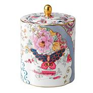 Butterfly bloom tea jar