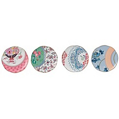 Wedgwood - Butterfly bloom 4 tea plates