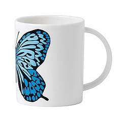 Royal Doulton - Street Art neon butterfly mug