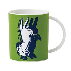 Royal Doulton - Street Art 'Bunny Fingers' mug
