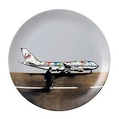 Royal Doulton - Street Art 'Vandal Airways' dinner plate