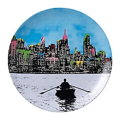 Royal Doulton - Street Art 'The Morning After New York' dinner plate
