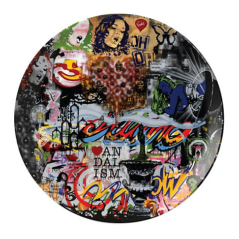 Royal Doulton - Street Art +Mood Board+ dinner plate
