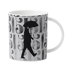 Royal Doulton - Street Art 'Numbers and Fingers' mug