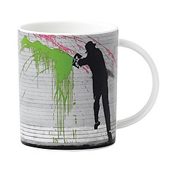 Royal Doulton - Street Art 'Chuckers' mug