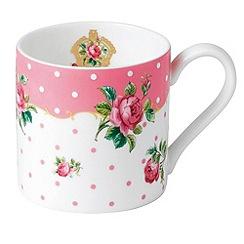 Royal Albert - 'Cheeky Pink' Pink mug