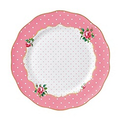 Royal Albert - 'Cheeky Pink' Pink large plate
