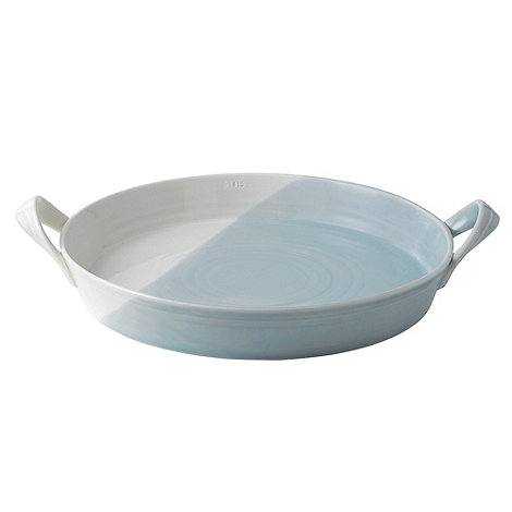 Royal Doulton - Blue and white glazed +1815+ serving platter
