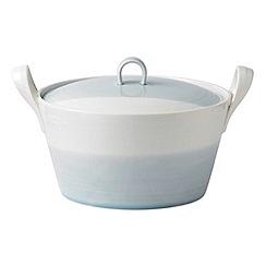 Royal Doulton - Porcelain blue '1815' casserole dish