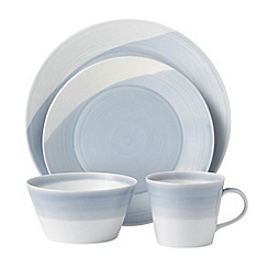 Royal Doulton - Porcelain blue '1815' 16 piece set