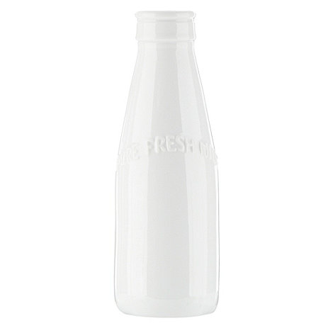Ben de Lisi Home - White +Dine+ milk bottle