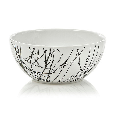 Betty Jackson.Black - White +Nordic+ Cereal Bowl