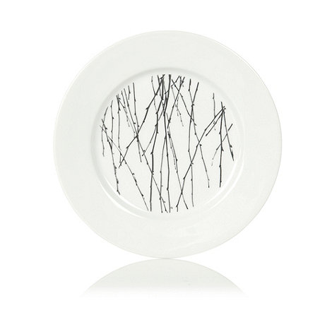 Betty Jackson.Black - White +Nordic+ dessert plate