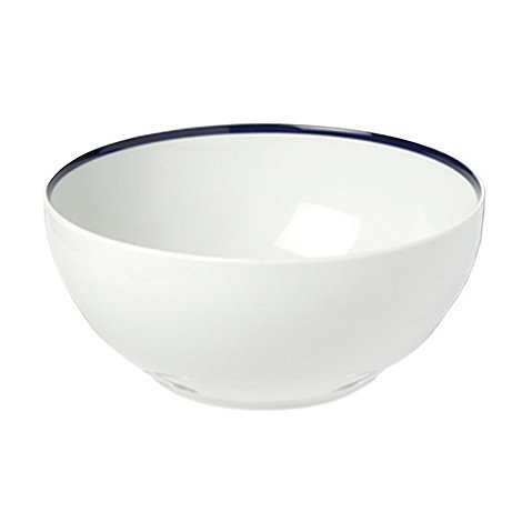 J by Jasper Conran - White +Henley+ cereal bowl