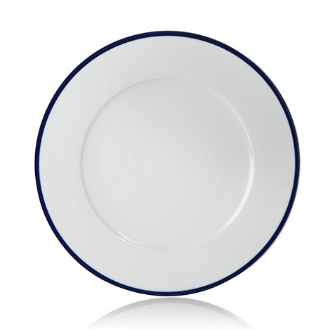 J by Jasper Conran - White +Henley+ dinner plate
