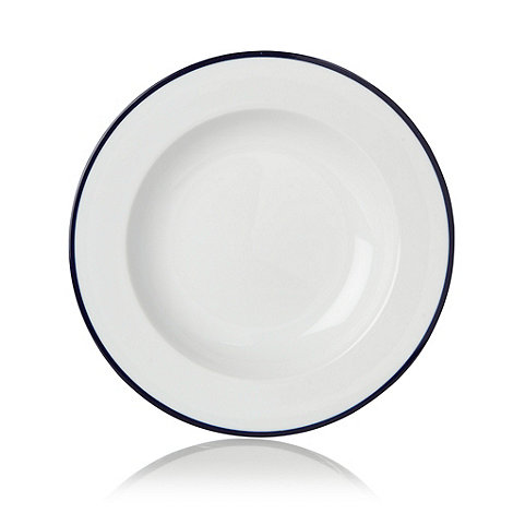 J by Jasper Conran - White +Henley+ soup bowl