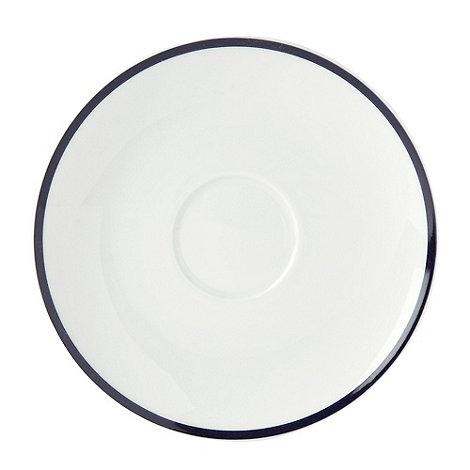 J by Jasper Conran - White +Henley+ tea saucer