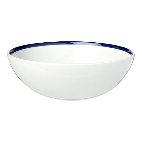 J by Jasper Conran - White +Henley+ serving bowl