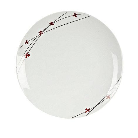RJR.John Rocha - White +Isla+ dinner plate