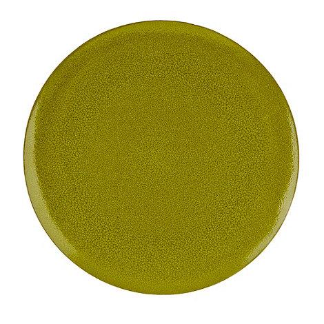 RJR.John Rocha - Green +Pico+ dinner plate