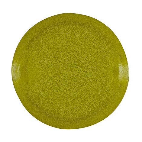 RJR.John Rocha - Green +Pico+ salad plate