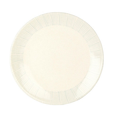 RJR.John Rocha - Cream +Brushstroke+ dinner plate